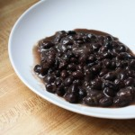 Creamy Black Beans with Melted Onions